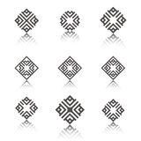 Geometric ornament. Royalty Free Stock Image