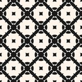 Ornament pattern with carved diagonal lattice. Geometric ornament pattern. Vector seamless texture with carved diagonal lattice, rounded shapes, squares Stock Image