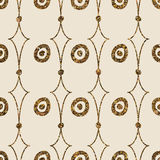 Geometric ornament seamless pattern. Modern stylish texture.  Royalty Free Stock Photography