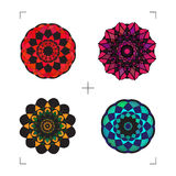 Geometric ornaments. Royalty Free Stock Images