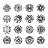Geometric Ornaments Set Stock Photos