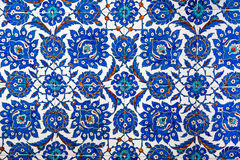 Geometric Ottoman Pattern Stock Photography