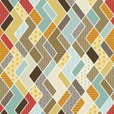 Geometric patchwork pattern. Vector illustration. eps 10 Royalty Free Stock Image