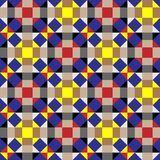 Geometric pattern. Optical illusion, geometric pattern, seamless Royalty Free Stock Images