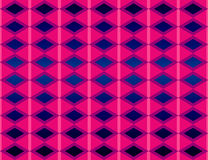 Geometric pattern. In pink and blue stock illustration