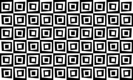 Retro geometric pattern background black and white stock images