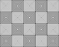 Geometric pattern. Optical illusion, geometric pattern, vector Royalty Free Stock Photos