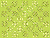 Geometric pattern. On green background Royalty Free Stock Photos