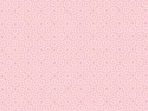 Geometric pattern. On pink background Royalty Free Stock Photography