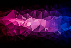 Geometric pattern abstract background, texture for web banner. Purple blue pink Royalty Free Stock Photo