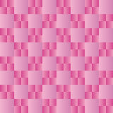 Geometric pattern with alternate pink and violet squares Stock Images