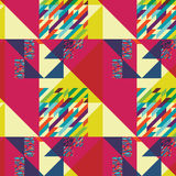 Geometric pattern art Royalty Free Stock Image
