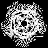 Geometric pattern astrology symmetry Stock Photography