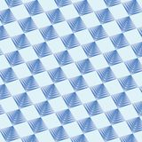 Geometric pattern background blue colour. royalty free illustration