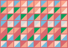 Geometric pattern background | pink green blue colorful graphic design Royalty Free Stock Images