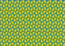 Geometric pattern background | Triangle pattern green yellow and blue creative vibrant Stock Images