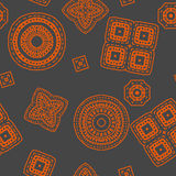 Geometric pattern background for your design. New. Geometric pattern background. New repeating pattern can be used to create beautiful patterns on fabrics, any Royalty Free Stock Images