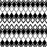 Geometric pattern in black white color. Vector geometric patterns, black-and-white color Vector Illustration