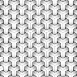 Geometric pattern, black and white, modern background vector illustration