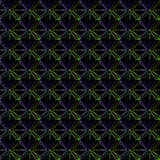Geometric pattern of blue stars. Stock Photography