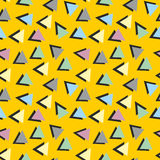 Geometric pattern. Bright colorful geometric seamless pattern Stock Photos