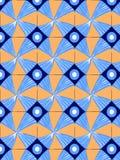 Geometric pattern in Brown royalty free illustration