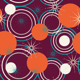 Geometric pattern of circles Royalty Free Stock Photography