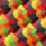Abstract geometric pattern with city elements frayed sprays triangles neon high-quality vector illustration in graffiti style for. Geometric pattern with city royalty free illustration