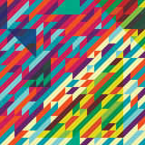 Geometric pattern color Royalty Free Stock Photos