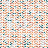 Geometric Seamless Pattern. Geometric pattern with colored arrows. Geometric modern ornament. Seamless abstract background vector illustration