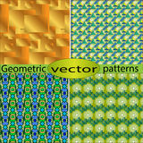 Geometric pattern for the cover Stock Photos