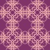 Geometric pattern of curves and dots royalty free stock images