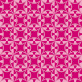 Geometric pattern with dark and light pink shapes Stock Photos