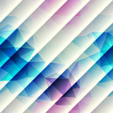 Geometric pattern with diagonal lines. Royalty Free Stock Photography