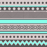 Geometric pattern with dots Royalty Free Stock Photo