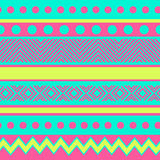 Geometric pattern with dots Royalty Free Stock Photos