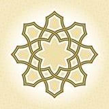 Geometric pattern element, Abstract Mandala Stock Image