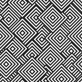 Geometric pattern of the embedded lozenges. Stock Image