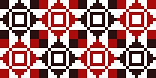Geometric pattern for embroidery in Ukraine, Poland, Belarus, Ro stock photography