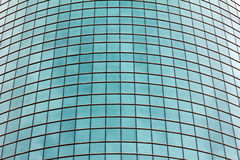 Geometric Pattern of Glass Windows Stock Image