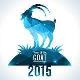 Geometric pattern goat. Stock Photography
