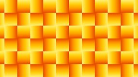 Geometric pattern of Golden-red squares. Royalty Free Stock Photography