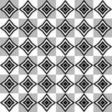 Geometric pattern with grey white and black rhomboid shapes Royalty Free Stock Photos