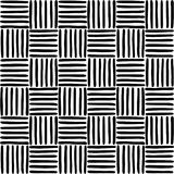 Geometric pattern with hand drawn lines Stock Photos