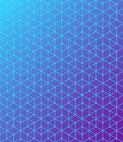 Geometric pattern of intersecting lines. The blue is a purple gradient. Abstract background for your design. Vector. Geometric pattern of intersecting lines Stock Illustration
