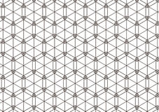 Geometric pattern of intersecting lines. Vector illustration.  Stock Photo