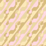 Geometric pattern with intersecting thin lines. Abstract geometric pattern with intersecting thin lines. Vector seamless lattice background. Gift wrapping paper royalty free illustration