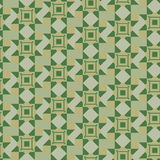 Geometric pattern in khaki Stock Photo
