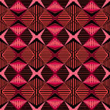 Geometric pattern with lines Stock Photo