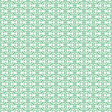 Geometric pattern. Modern stylish geometric floral green and white flower pattern for textile, wallpaper, pattern fills, covers, surface, print, gift wrap Stock Photography